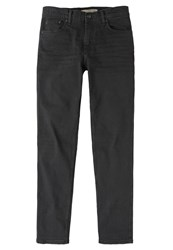 Mango Slim Fit Jeans Black Black Denim