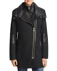Andrew Marc New York Kristy 2 In 1 Coat 100 Bloomingdale's Exclusive Black