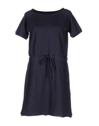 Alpha Massimo Rebecchi Short Dresses Dark Blue