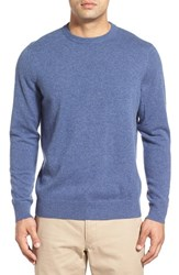 Men's Vineyard Vines Lightweight Cashmere Crewneck Sweater Flag Blue