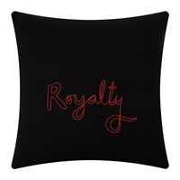 Bella Freud Royalty Cushion Black