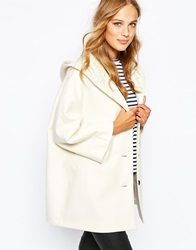 Sessun Louisa Hooded Coat In Cream