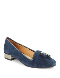 Jack Rogers Gabrielle Suede Loafers Blue