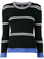 Creatures Of The Wind Long Sleeved Striped Knit Black