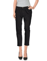 Superfine Denim Pants Black