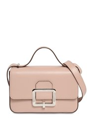 Bally Janelle Leather Shoulder Bag Pink