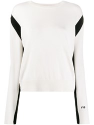 Victoria Beckham Crew Neck Slit Back Jumper 60