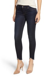 Kut From The Kloth Connie Frayed Ankle Skinny Jeans Observant