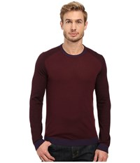 Ted Baker Cambell Purple Men's Long Sleeve Pullover
