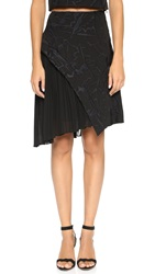 Elle Sasson Louise Skirt Black