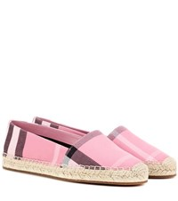 Burberry Hodgeson Espadrilles Pink