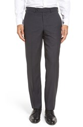 Ted Baker Men's London Livingstone'flat Front Check Wool Trousers