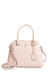 Kate Spade New York Cameron Street Maise Leather Satchel Pink Warm Vellum