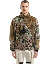 Alyx Myles Zip Polar Fleece Jacket Camouflage