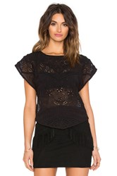 Hoss Intropia Embellished Top Black