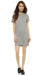 Marc By Marc Jacobs Favorite Tee Dress Elephant Grey Melange