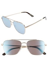 Toms Men's Irwin 58Mm Aviator Sunglasses