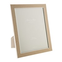 Addison Ross Sand Faux Shagreen Photo Frame 8X10
