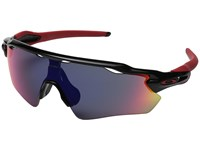 Oakley Radar Ev Polished Black Positive Red Iridium Sport Sunglasses