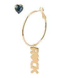 First People First Jewellery Earrings Women Blue