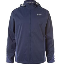 Nike Running Hield Torm Fit Running Jacket Navy