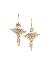 Cross Drop Earrings Gold Women's Kenneth Jay Lane