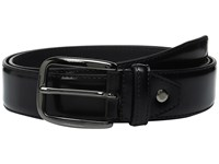 Bugatchi Verdi High Finish Belt Nero Men's Belts Black