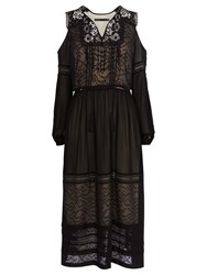 Karen Millen Bohemian Dress Black