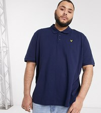 Lyle And Scott Polo In Navy
