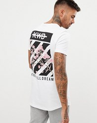 Kings Will Dream Muscle T Shirt With Back Print White