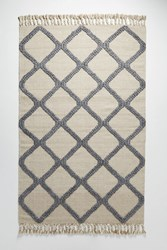 Anthropologie Woven Marah Rug Neutral