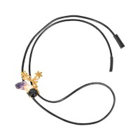 Marni Amethyst And Crystals Necklace
