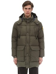 Ciesse Piumini Canada Hooded Cotton Parka Army Green
