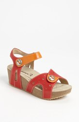 Romika Women's 'Florida 05' Sandal Red