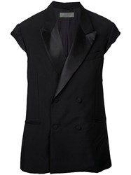 Di Liborio Vest Coat Black