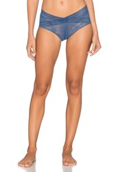 Lejaby Miss High Brief Blue