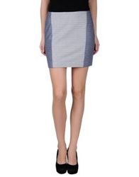 Thakoon Addition Mini Skirts Blue