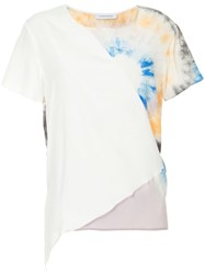 Cnc Costume National Tie Dye T Shirt White