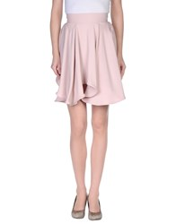 Francesco Scognamiglio Skirts Knee Length Skirts Women Pink