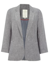 White Stuff Mono Blazer Fossil Grey