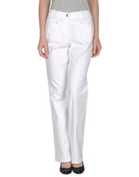 Caractere C24 Casual Pants White