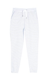 Zoe Karssen Striped Jogging Trousers White