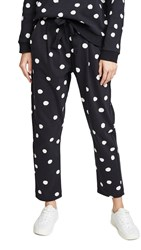 Chinti And Parker Painted Spot Trackpants Black