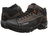 Hi Tec Trail Ox Chukka I Waterproof Chocolate Black Burnt Orange Men's Shoes