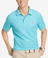 Izod Men's Advantage Performance Polo Blue Radiance