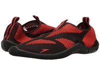 Speedo Surf Knit Black Orange Men's Shoes