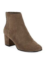424 Fifth Esme Studded Suede Ankle Boots Volcano
