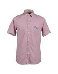 Blomor Short Sleeve Shirts Red