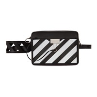 Off White Black Diag Camera Bag