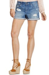 Women's Two By Vince Camuto Distressed Roll Cuff Denim Shorts